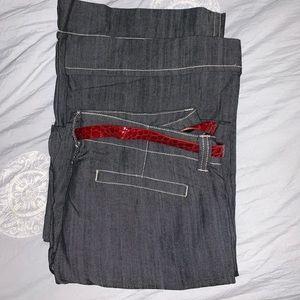 Baccini Jeans Flare Leg Size 12